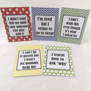 Alternative Toddler Milestone Cards - Bright