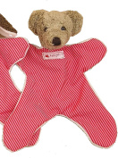 'Kallisto Bear Comfort Blanket for Babies Cuddly Animals Organic Cotton Made in Germany