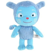 Soft And Cuddly Messy Goes to Okido Plush Talking Activity Toy.