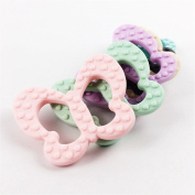 Silicone Teether Chewable Silicone Beads Pendant BPA Free 5pc Nursing Necklace Teething Accessories Baby Teether Toys