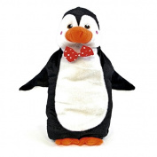 Winter Warmers Hot Water Bottle With Plush Penguin Christmas Hot Water Bottle