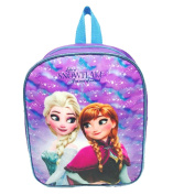 Disney Official Frozen Purple Back Pack (Like a Snowflake) Anna & Elsa