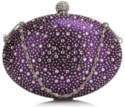 Small Size Ladies Women's Chic Diamante Beaded Cute Little Evening Bag Clutch Bags Purses Wedding Party Festival CWE00311