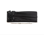 Segue Women's Black Clutch-100% PL