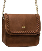 BROWN SHOULDER BAG J.LO BY JENNIFER LOPEZ BAGJL6167MA