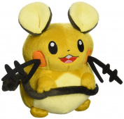 Takaratomy New Pokemon N-05 X and Y Dedenne 18cm Plush Doll