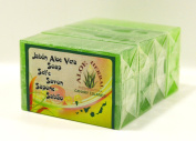 Aloe Herbal Aloe Vera Soap 125 gr Pack 4 UDS