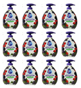 12 x Fresh & Clean Liquid Soap Gel Mora & Blueberry 300 ml
