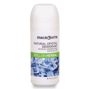 MACROVITA NATURAL CRYSTAL DEODORANT ROLL-ON HERBAL 75 ML.