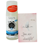 SANTE - Deo Roll-on 24h without aluminium salts - With Sage extract and Macadamia Oil