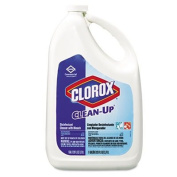 Clean-Up Disinfectant Cleaner with Bleach, Fresh, 3790ml Refill Bottle, Sold as 1 Each