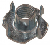 The Hillman Group 180297 Pronged Tee Nut, 1/4 20, 100-Pack by The Hillman Group