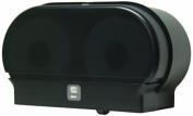 Palmer Fixture RD0321-02 Mini-Twin Standard Tissue Dispenser, Black Translucent by Palmer Fixture