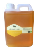 100 % Pure Organic Argan Oil 2 Litres - Cold Pressed Premium Quality Cosmetic Moroccan Oil for Face, Skin, Hair, Nails - Non-greasy, Fast Absorbing - all In one treatment for anti-ageing, anti-wrinkles, acne, scars, stretch marks, cuticle, split ends, ..
