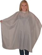Solida Hair Cutting Cape Taffeta, Grey Colour, 1 Piece