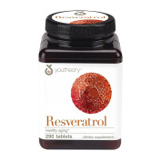 Youtheory - Resveratrol Anti-Ageing Benefits - 290 Tablets