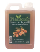 100% Pure Moroccan Argan Oil, Organic, Cold Pressed - 2.5 Litres