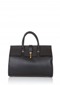 Laura Moretti - Leather handbag DOCTOR style