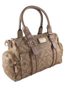 Giulia Pieralli Women's Top-Handle Bag multi-coloured camel