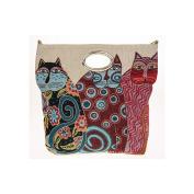 Equilibrium 3 Fat Cats Large Luxury Bag