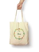 Floral Alexis - Canvas Tote Bag