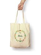 Floral Aleta - Canvas Tote Bag