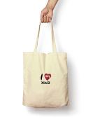 I Love My Xiasi - Canvas Tote Bag