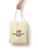 I Love My Transylvanian Hound - Canvas Tote Bag