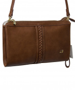BROWN WRISTLET HANDBAG J.LO BY JENNIFER LOPEZ BAGJL6166MA