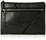 Nine West Womens Underwraps Zip Pouch Lg Wristlet