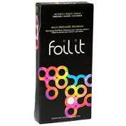 Framar Professional Salon Hair Tint Foil It Star Struck Silver Embossed Foil Sheets x 500 (30.5cm x 12.7cm) -