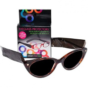 Framar Professional Salon Glasses Protectors Hair Tint Black 100 pairs -