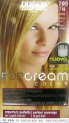 6 x Pop Cream Colour Cream Dye 700 - 7 N Blonde