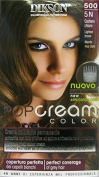 6 x Pop Cream Colour Cream Dye Light Brown 500 - 5 N