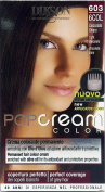 6 x Pop Cream Colour Cream Dye Light Chocolate Brown 603 - 6 COL
