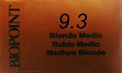 Biopoint Professional Colour Lightest Blonde Gold * 9.3 60 ml