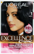 Excellence Cream Dye Black 1 40 ml