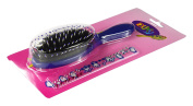 Duxy Cushion Brush for Kids 7 Rows Blue Handle Price for 1 Each