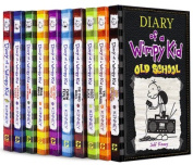 NEW Diary of a Wimpy Kid Collection included Old School#10