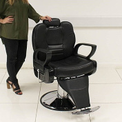TRADITIONAL BARBER CHAIR SALON STYLING TATTOO BEAUTY THREADING SHAVING BARBERS