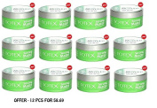 Totex Hair Styling Wax - Strong Matte 150ML - **12 PCS**