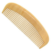 F & HY & L All-natural Walnut comb size long straight hair
