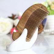 F & HY & L Green ebony Combs anti-static and practical gift for mum and girlfriend