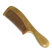 F & HY & L Thick round handle green ebony hairbrush handle shunfa massage hair brush