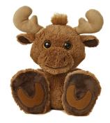 Aurora World Taddle Toes Maple Moose Plush, 25cm