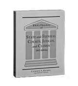 Directory of State and Federal Courts, Judges and Clerks