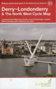 Derry~Londonderry & the North West Cycle Map 51
