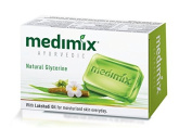 MEDIMIX Herbal Ayurvedic Soap With 18 Herbs Healthy Skin 75g. /