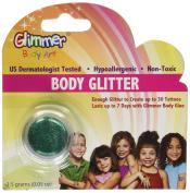 Green Body Glitter Party Accessory