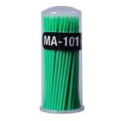 Greencolourful 100pcs Disposable Special Swab for Applying Eyelash Extension Glue Disposable Eyelash Extension Micro Brush